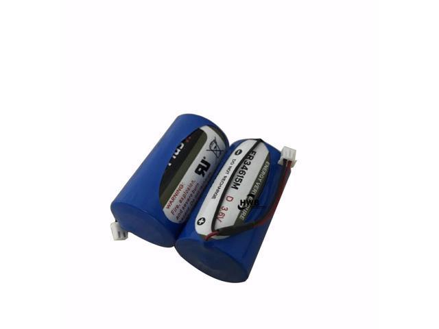 2pcs ER34615M type D intelligent water meter instrument electric flow meter  PLC 3 6 V lithium battery ER34615 With Plug - Newegg com