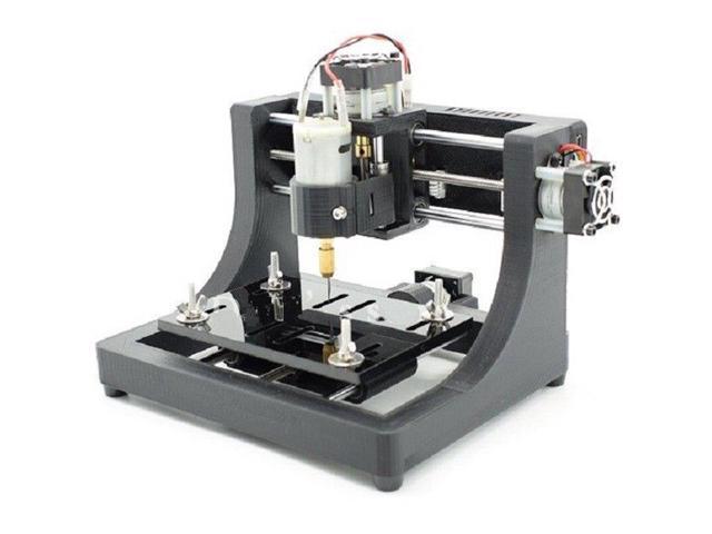 1208 3-axis Mini DIY CNC Router Wood Carving PCB Milling Engraving Machine  Engraver 120x80x16mm - Newegg com