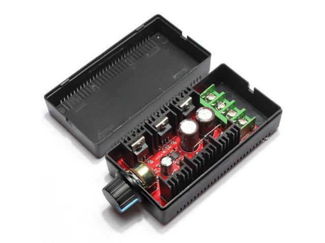 MAX 10-50V 2000W 40A 12V 24V 48V DC Motor Speed Control PWM HHO RC Controller Ad