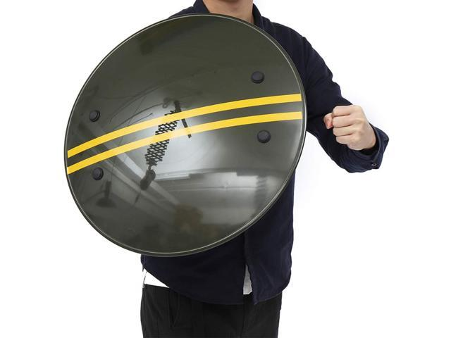 CS Campus Anti Riot Police Arm Shield Military Tactical Security Self-Defence *
