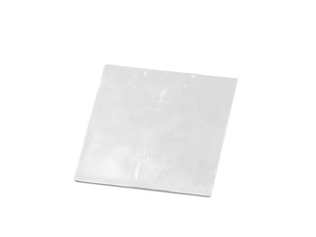 100mmx100mmx0.5mm GPU CPU Heatsink Cooling Thermal Conductive Silicone Pad for Graphic Cards Chips Bridge Memory Chipset IC