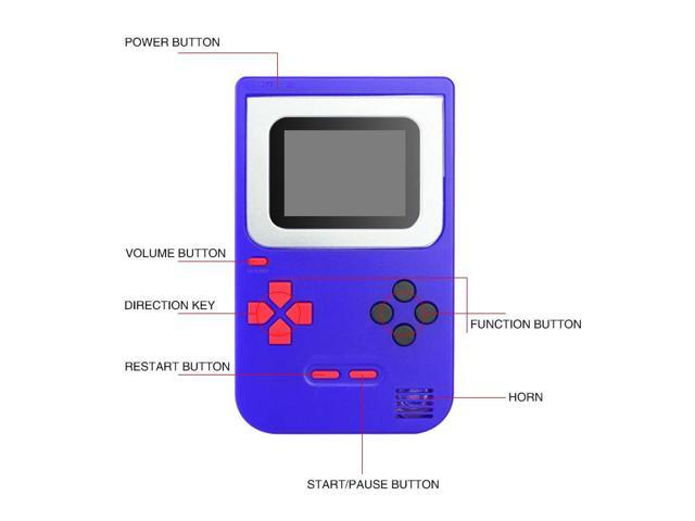 Portable Mini Handheld Game Console 8 bit 268 Games 2 0 inch TFT display  boy nostalgic players video game console for Kids Retro - Newegg com