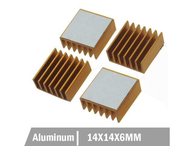20PCS Aluminum Heat Sink  20*20*6mm for LED Power Memory Chip IC