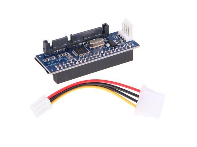40-Pin IDE Female To SATA 7+15Pin 22-Pin Male adapter PATA TO SATA Card BU