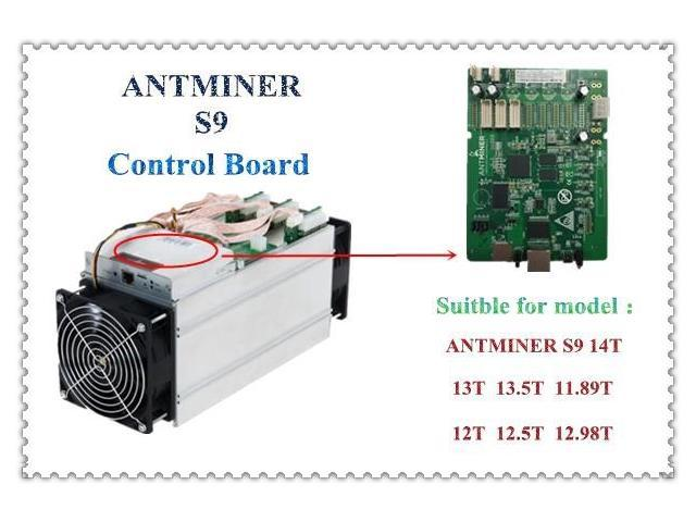Antminer S9 control board,bitcoin miner Parts, antminer S9 Repair parts For  ANTMINER S9 S9i S9j 14 5T 14T 13 5T 13T 12T - Newegg com
