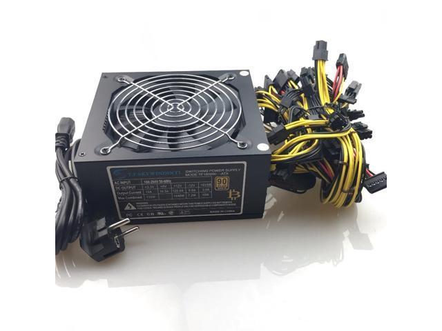 free ship 1600w computer power supply mining rig antminer pico psu asic  bitcoin miner for rx 470 rx 580 rx 570 rx480 atx btc - Newegg com