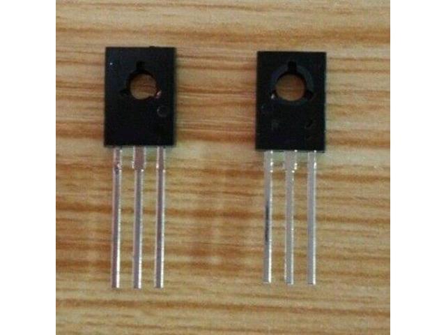 50PCS BD139 TO-126 NPN 80V 1.5A Power Transistors NEW