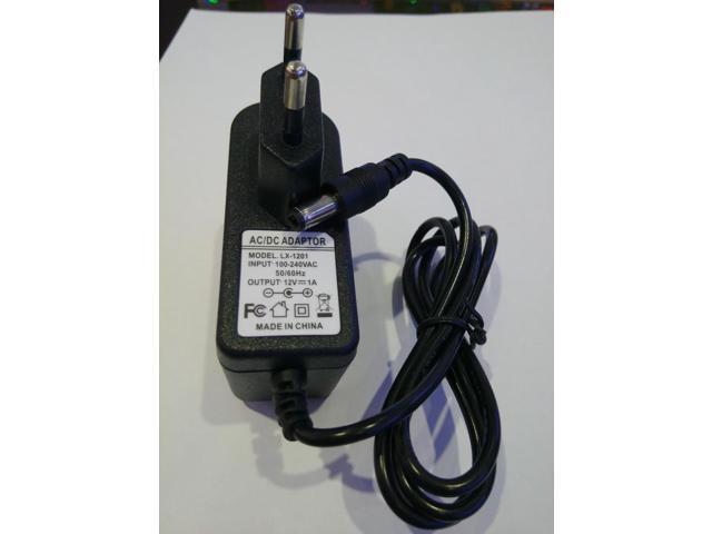 LED Power Supply Adapter AC 100V-240V To DC 12V 1A-10A For EU UK Plug NEW DIY