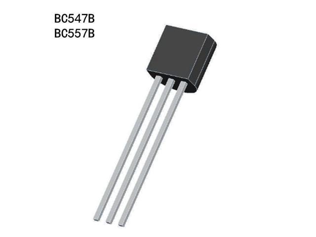 100pcs BC547B BC557B BC547 BC557 TO-92 Triode Transistor - Newegg com