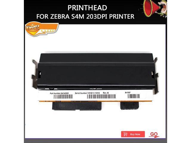 Condition Printer head For Zebra S4M printhead Thermal Barcode Printer  203dpi Part Number G41400M - Newegg com