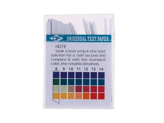100Pcs 0-14 PH Test Strips Litmus Paper For Water Saliva Soil Aquariums PH  Tester Universal Alkaline Acid Indicator Paper - Newegg com