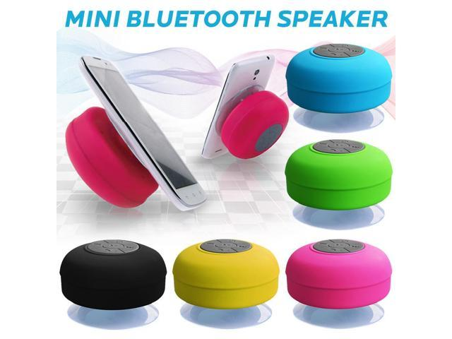 Mini Speaker Waterproof Suction Cup Wireless Bluetooth Speaker For Car Bathroom