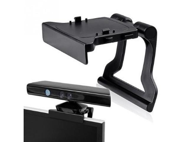 Black Mini Camera TV Clip Holder for Xbox 360 Kinect Video Games Mounting  Stand With Retail Gift Box&Tracking Number - Newegg com