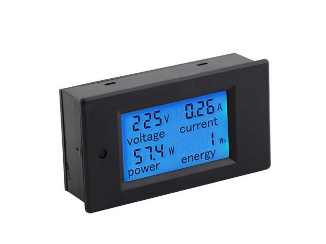 20A AC Digital LED Power Panel Meter Monitor Power Energy Voltmeter Ammeter