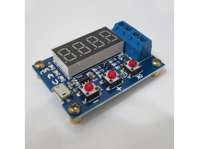 Li-ion Lithium Lead-acid Battery Capacity Meter Discharge Tester Analyzer