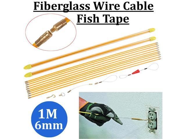 Fish Tape Fiberglass Cable Running Rod wire puller cable access kit Cable tools