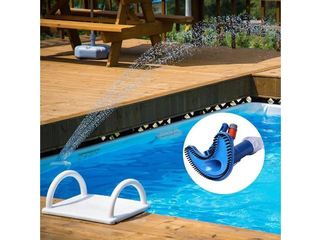 Swimming Pool Vacuum Head Flexible Durable Pool Brush Cleaning Equipment  Underwater Cleaner Sewage Suction Pool Accessories