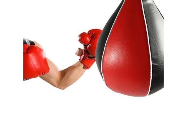 Professional Boxing Pear Fitness Speed Ball Swivel Punching Speedbag