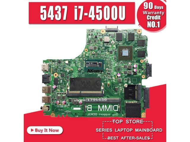 12307 2 Pwb Vkj89 Rev A00 Fur Dell 5437 3437 Notebook Motherboard Cpu I7 4500u Gt750m 2g Ddr3 100 Test Arbeit Newegg Com
