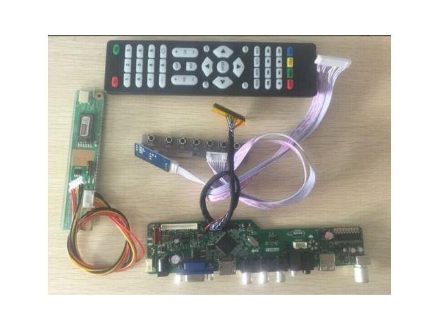 Kit for LP173WD1-TLD1  TV+HDMI+VGA+USB LCD LED screen Controller Driver Board