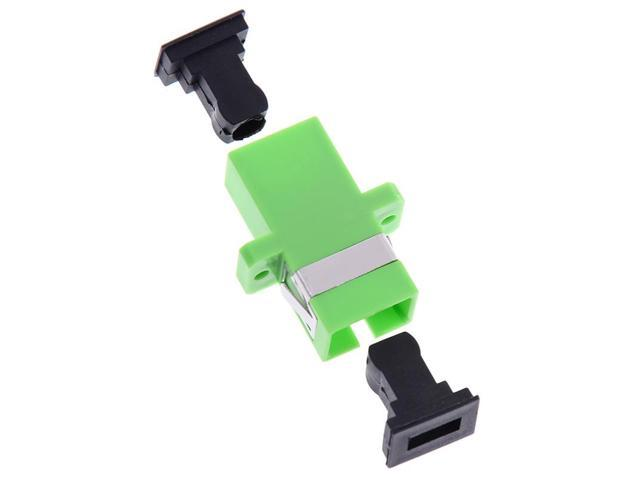 10pcs sc apc simplex mode fiber optic adapter sc apc optical fiber coupler PO