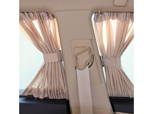 Car Side Window Sunshade Curtains