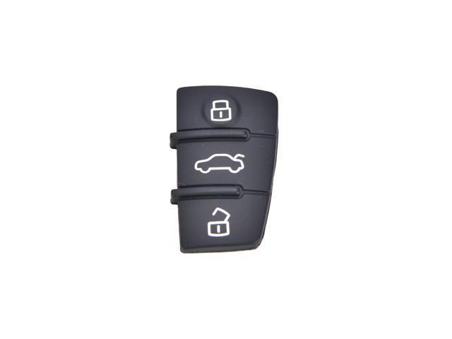 Repair 1 pcs Remote Key FOB 3 Button Rubber Pad Replacement Fits for Audi  A3 A4 A6 TT Q7 - Newegg com