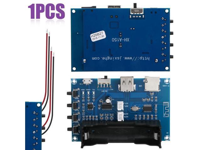 est 1pc Bluetooth Power Amplifier Board PAM8403 Stereo DIY AMP USB 18650  Battery Bluetooth Power Amplifier Boards Mayitr - Newegg com