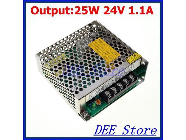 leds-mall LED-25 Led driver 25W 24V 1 1A Single Output Adjustable Switching  power supply for LED Strip light AC-DC Converter - Newegg com