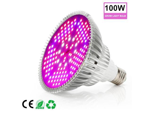 LED Plant Growth Light 30W E27 Lamp Bulb For Indoor Plant Veg Hydroponic  Full Spectrum Flexible Plant Growth Lamp - Newegg com