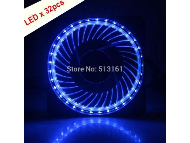 5pcs Solar Eclipse Red LED 12V 120mm 120x120x25mm PC CPU Case Cooling Fan 12cm