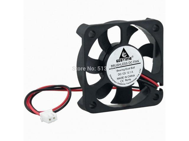 5010 12V Mini Computer Fans Cooling Cooler CPU System Heatsink DC Brushless Fan