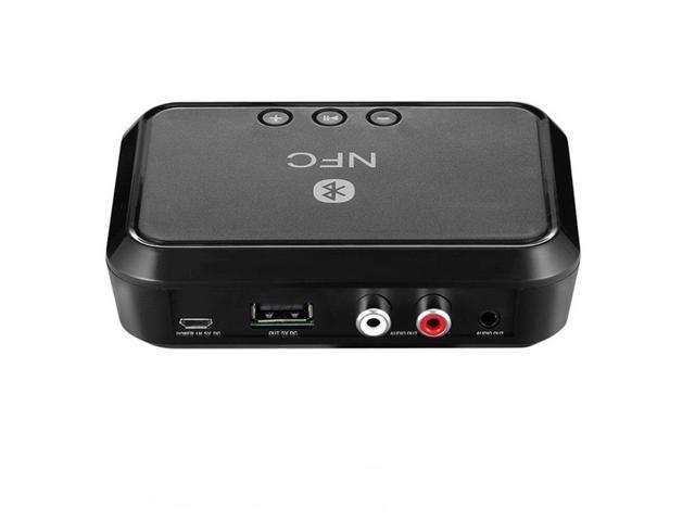 Bluetooth Wireless Audio Adapter Receiver Stereo 3.5mm RCA Music HIFI LJ