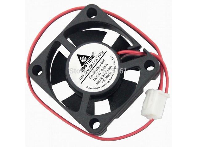 10pcs Ball Bearing 24V 30x30x10mm Brushless Computer Cooling Fan 3cm 30mm 2pin