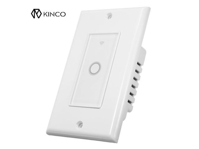 Durable 110V WIFI Smart Wall Switch Touch Panel Timing APP Remote Control  For Alexa/Google Home Assistant - Newegg com