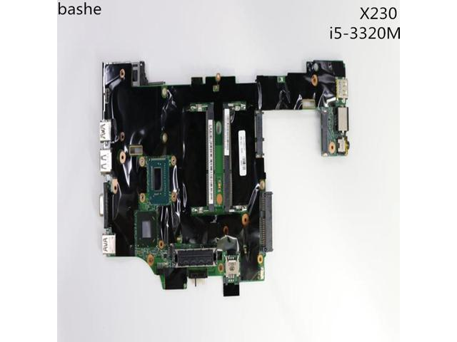 For Lenovo ThinkPad X230 X230i laptop motherboard i5-3320m CPU motherboard  FRU:04X3741 100% test free delivery - Newegg com