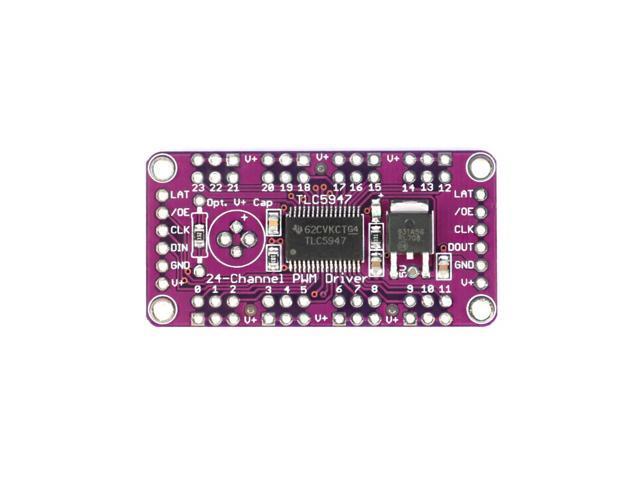 TLC5947 12-Bit 24-Channel PWM LED Driver Module With Internal Oscillator 12 Bit 3-5.5V