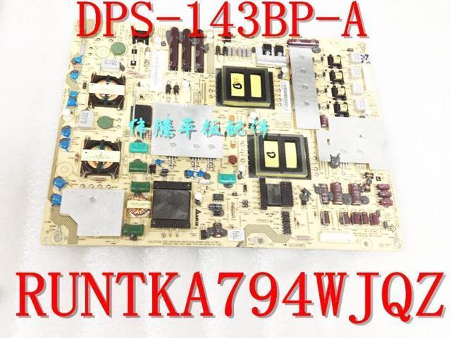 Plug Type: Universal Pukido DPS-143BP RUNTKA794WJQZ original for Sharp LCD-46X830A 52LX830A power board