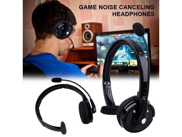 Head Boom Mic Bluetooth Noise Cancelling Headphone For Ps3 Office Wireless Headset Car Bluetooth Headset Newegg Com