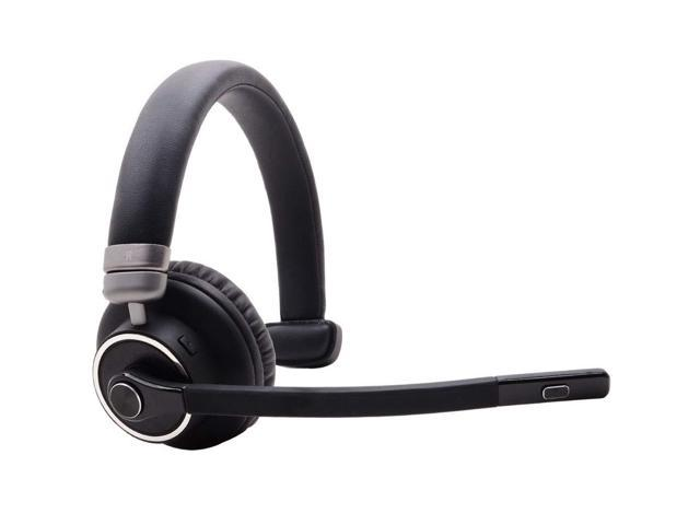 Bluetooth Headset With Microphone Willful M91 Wireless Headset With Noise Cancelling Sound Comfortable Extra Cushion Strong Bt Signal Mute Button Cell Phone Headset For Office Trucker Drivers Newegg Com