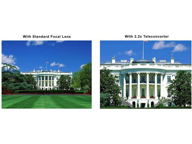 Viv//Optics 2.2X Teleconverter Lens for Sony HDR-CX560V Nwv Direct Microfiber Cleaning Cloth