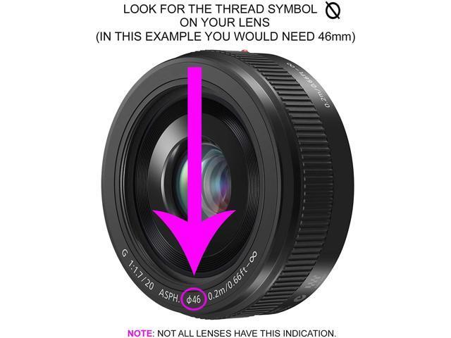 Lens Cap Center Pinch for Pentax K-5 IIs Microfiber Cloth + Lens Cap 46mm