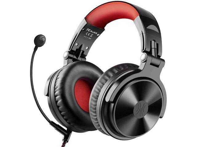 Bluetooth Over Ear Headphones Oneodio Wired Gaming Stereo Headsets With Boom Mic For Ps4 Xbox One Pc Cell Phones Office Wireless Headset With 30 Hrs Playtime Studio Wireless Y80b Red Newegg Com