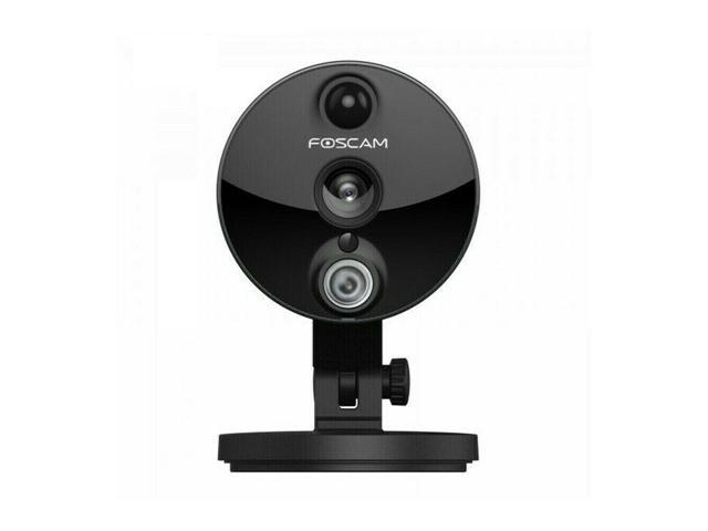 Refurbished: Foscam C2 HD 1080P WiFi Security IP Camera with iOS/Android  App, Super Wide 120° Viewing Angle, Night Vision Up to 26ft, PIR Motion