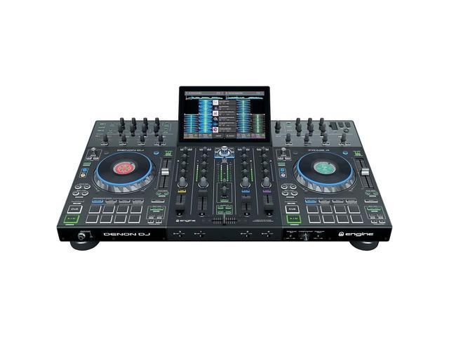 Denon Prime 4 Professional 4-Channel DJ Controller - Newegg com