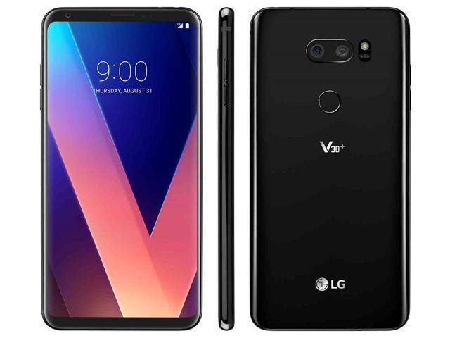 LG V30+ PLUS 128GB LS998 Unlocked Android Smartphone - Aurora Black