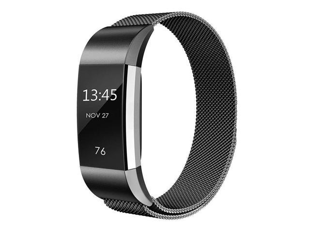 Werleo Compatible for Fitbit Charge 2 Band Small / Large Replacement  Milanese Band Strap with Magnetic Closure Clasp for Fitbit Charge 2 -  Newegg com