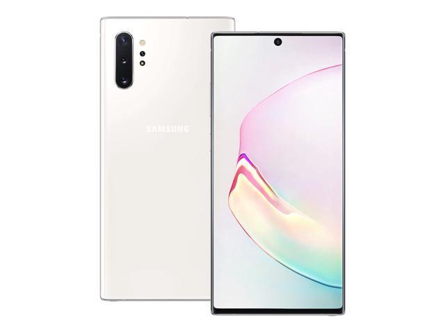 Samsung Galaxy Note 10 Plus (SM-N9750) 12GB / 256GB 6.8-inches (GSM ONLY) Dual SIM Factory Unlocked (Aura Glow) (International Version)
