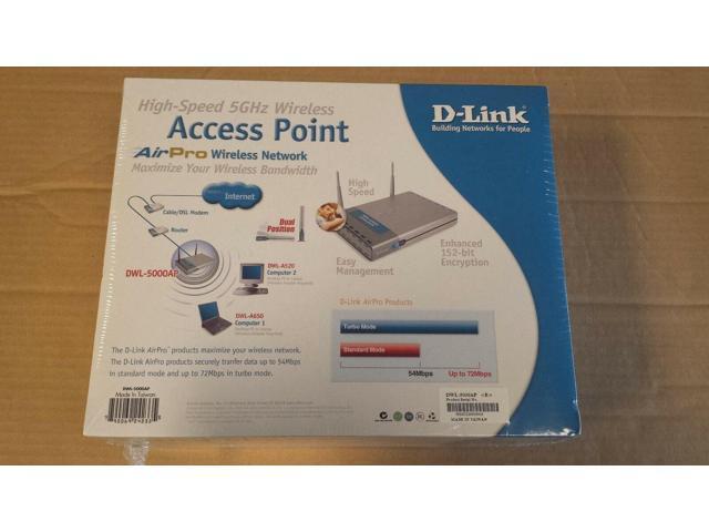 Largship DWL-5000AP 802 11a Wireless Air Pro Access Point - Newegg com