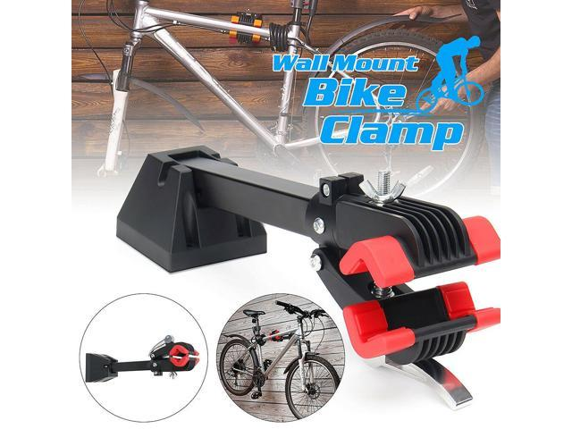 Portable Adjustable Wall Mount Bike Repair Stand Bicycle Cycle Maintenance Rack